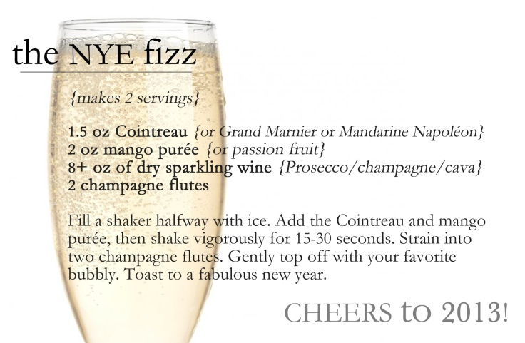 the new year's eve fizz